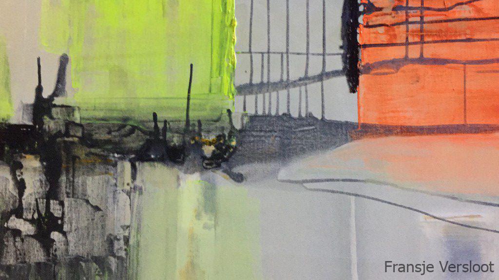 Fransje Versloot schilderij painting Tweespalt / Discord